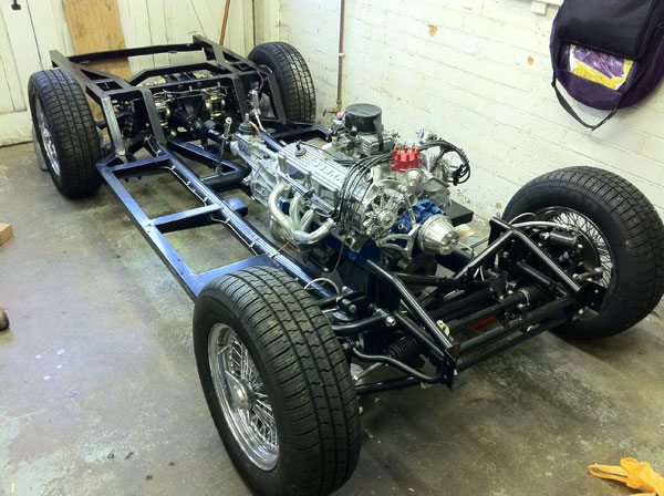 Building Our Ac Cobra 289 Leman 187 Rolling Chassis